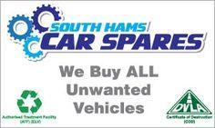 South Hams Car Spares   Scrap Car and Van - Automotive & Motoring - Directory   Southhams.com