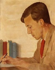 Cecil Day-Lewis, poet laureate, Father of Daniel Day-Lewis the actor. Famous Historical Figures, Men Of Letters, Daniel Day, Day Lewis, Poem A Day, Mystery Novels, Book Worms, Writers, Authors