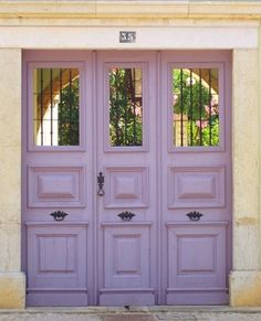 Doors in Faro, Portugal