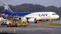 Protesta en Aeroparque:demoras en los vuelos de LAN
