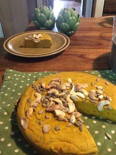 超簡単★カボチャのケーキが素材そのまんまで美味しい