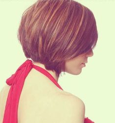 Tapered Bob Hairstyle Side View