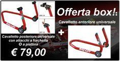 Cavalletti moto universali offerta cod. OFF01
