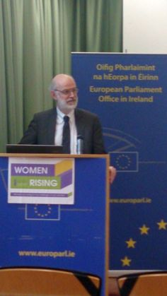 Francis Jacobs (Head of European Parliament Office) European Parliament, Family Issues, Dublin City, City Council, Equality, Product Launch, Women, Social Equality, Women's