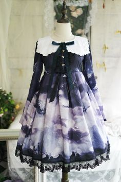 --> #LolitaUpdate: Angelcat Lolita [-♆☪☁-Ship at Starry Night-♆☪☁-] Series --> Learn More: http://www.my-lolita-dress.com/newly-added-lolita-items-this-week/angelcat-lolita-ship-at-starry-night-series