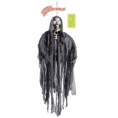 Esqueleto Colgante Parlante #decoraciónhalloween #fiestahalloween