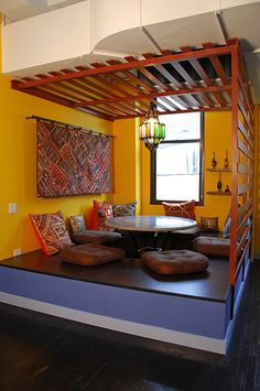 an informal meeting spot at this company. The Nook by dlinknyc, via Flickr