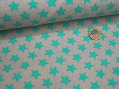 Canvas-Druck Sterne 01242.001 Grau Smaragdgrün