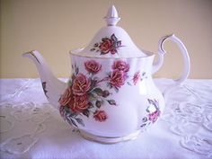 royal albert centennial rose tea pot