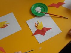 Аппликация «Вечный огонь» - Для воспитателей детских садов - Маам.ру