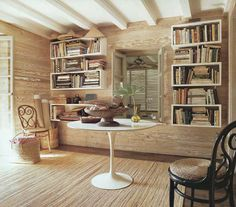 love the book shelves