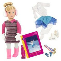 Our Generation Deluxe Katelyn Doll with Book