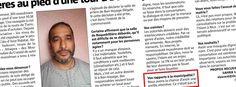 """L'imam islamiste Sadouni considère comme un """"devoir religieux"""" de voter contre le FN ! [communiqué du 23/08/2015] Manifestement très ennuyé par la révélation de ses accointances islamistes et de ses fantasmes complotistes, l'imam Abdelkader Sadouni (de la mosquée du quartier """"sensible"""" des Moulins à Nice) s'en est violemment pris au Front National et à ma …"""
