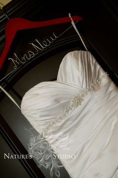Personalized Wedding Gown Hangers