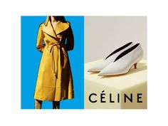 Céline Fall 2015 Ad Campaign I'd Love to see what the Shoes look like on...