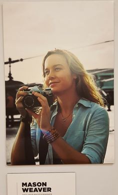 Check out 50 Kong: Skull Island photos in our Mason Weaver gallery. She's the anti-war photographer characters played by Brie Larson in the March 10 release
