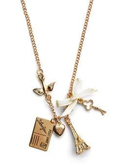 Petite Paris Necklace | Mod Retro Vintage Necklaces | ModCloth.com  $13