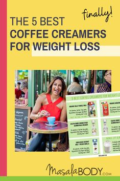 The Best Coffee Creamers for Weight Loss. In this post, I'll show you, the 2 best dairy creamers for weight loss – specific brands, nutritional info, and serving size. And, the 3 best dairy-free creamer options that are still low in sugar. About: stop sugar cravings, sugar cravings detox.