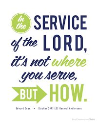 Image result for missionary service quotes lds