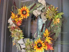 Fall Wreath for my front door
