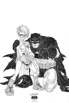 Dark Knight III: The Master Race #6 variant cover by Rafael Grampa *