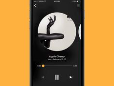 Dribbble - Music Player Interactions by Sylvester Wilmott