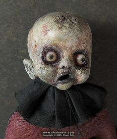 Shain Erin New Zombie art doll