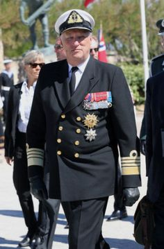 King Harald, June 6, 2014 |Royal Hats-70th Anniversary Commemoration of D-Day, June 6, 2014
