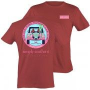 Simply Southern Tee Brick Preppy JEEP Turtle Oars Shirt Short Sleeve T-Shirt