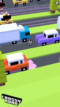 2 on #crossyroad. My top is 67.