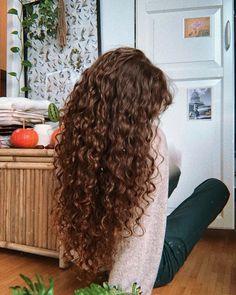 a little care and love can make things whole again🍂 Long Curly Hair, Wavy Hair, Curly Hair Styles, Curly Girl, Cut Her Hair, Hair Cuts, Good Hair Day, Dream Hair, Pretty Hairstyles