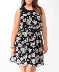 Floral Peter Pan Collar Dress Forever 21+ is killing me.