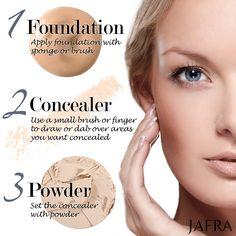Make up foundation tips