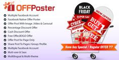 OFFPoster : Facebook Offer Poster (Image Carousel & Video)