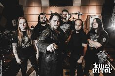 Força Metal BR: Tellus Terror: impressionando gravadora russa!
