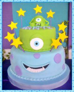 torta de monster inc