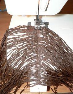 Trendy Ideas For Crochet Doll Hair Tutorial Ideas - haarteile - Doll Wigs, Doll Hair, Doll Crafts, Diy Doll, Sewing Crafts, Sewing Dolls, Toy Craft, Waldorf Dolls, Soft Dolls