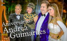 Chegou a Hora TV - Festa da top decoradora Andrea Guimarães com tema Egito. Veja todos os detalhes e muito mais!