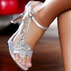 sandalo gioiello argento tacco 10