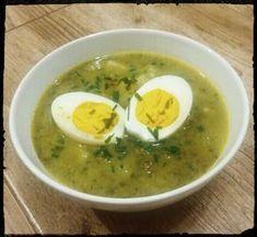 Waniliowe Improwizacje: Zupa szczawiowa z jajkiem Soup Recipes, Cooking Recipes, Polish Recipes, Polish Food, Catering, Good Food, Food And Drink, Eggs, Menu
