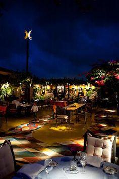 Las dos Lunas, Ibiza, Spain. Perfect spot for a romantic dinner.
