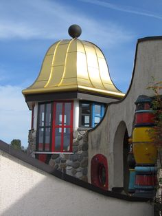 House of Friedensreich Hundertwasser in Altenrhein, SG, Switzerland