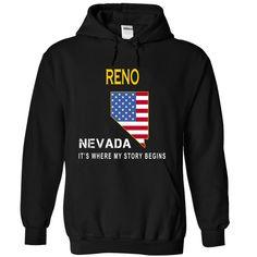RENO - Its Where My Story Begins - T-Shirt, Hoodie, Sweatshirt