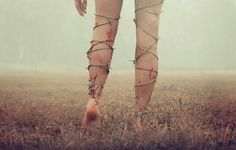 Untitled legs series by Kyle Thompson