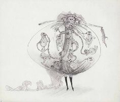 tim burton - lady