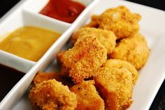 Baked Chicken Nuggets Recipe -3 Points + - LaaLoosh