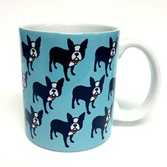 Boston Terrier Mug - $12