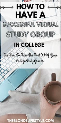 Need to study with your classmates or friends for your next test? Here are a few college tips and study tips on how to have a successful virtual study group in college. #collegetips #studytips #collegeadvice #studying #studygroup College Essentials, College Hacks, Study Hacks, Study Tips, Good Study Habits, College Survival Guide, College Success, Organization Skills, Top Colleges