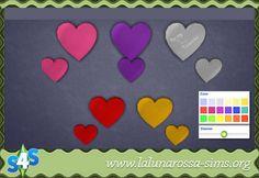 Valentine's Wall Lights at LaLunaRossa • Sims 4 Updates