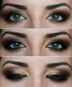 smkey eyes schminken schminkanleitung schminktipps braune augen schritt für schritt für jede farbe